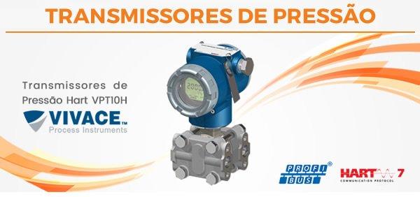 Transmissores de Pressão Hart VPT10H
