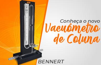Conheça o Vacuômetro de Coluna BENNERT