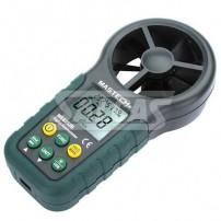 Anemômetro Digital, termômetro e Medidor de Velocidade